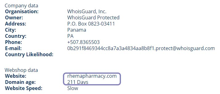 RhemaPharmacy com Reviews - Could be Operating Legally