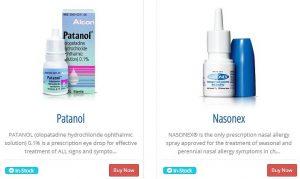 Patanol, Nasonex