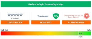 a high trust rating