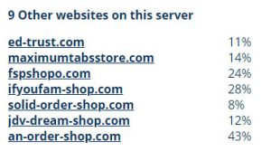 9 sites
