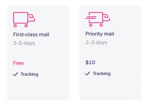 first-class and priority mail