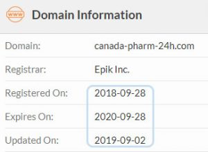 registered on: 2018-09-28