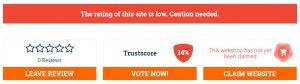 trustscore 14%