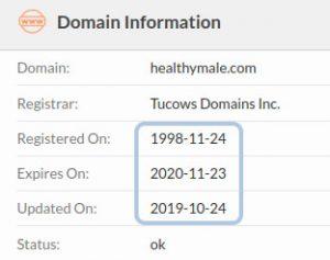 registered in 1998