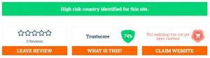 74% of trust