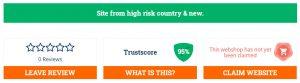 95% of trust
