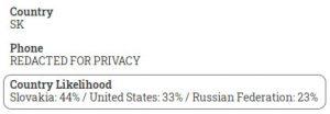 Slovakia, US, Russia
