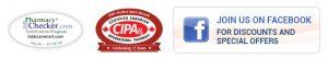 pharmacy checker, cipa and facebook