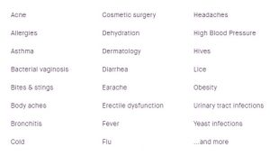 many categories