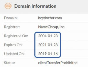 registered in 2004