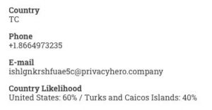 US or Turks and Caicos Islands